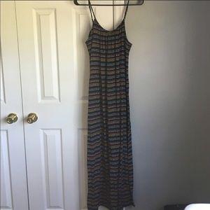 Maxi striped Merona dress